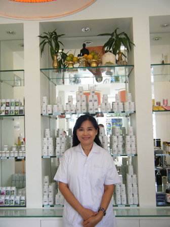 Uan in her natural pharmacy